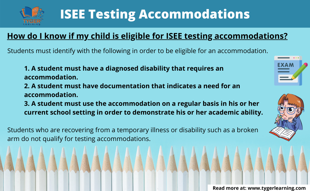 ISEE Testing Accommodations