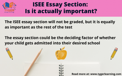 ISEE Essay Section: Is it actually important?