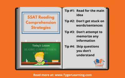 SSAT Reading Comprehension Strategies